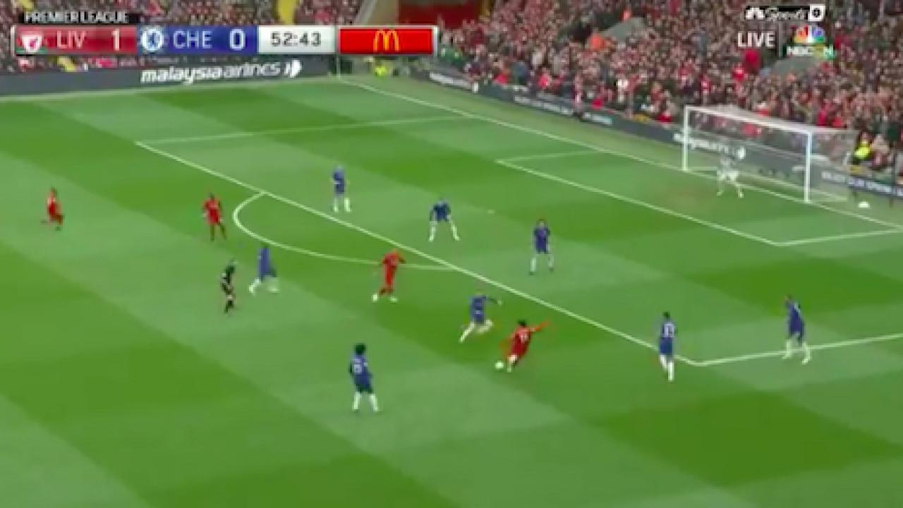Mohamed Salah goal v Chelsea