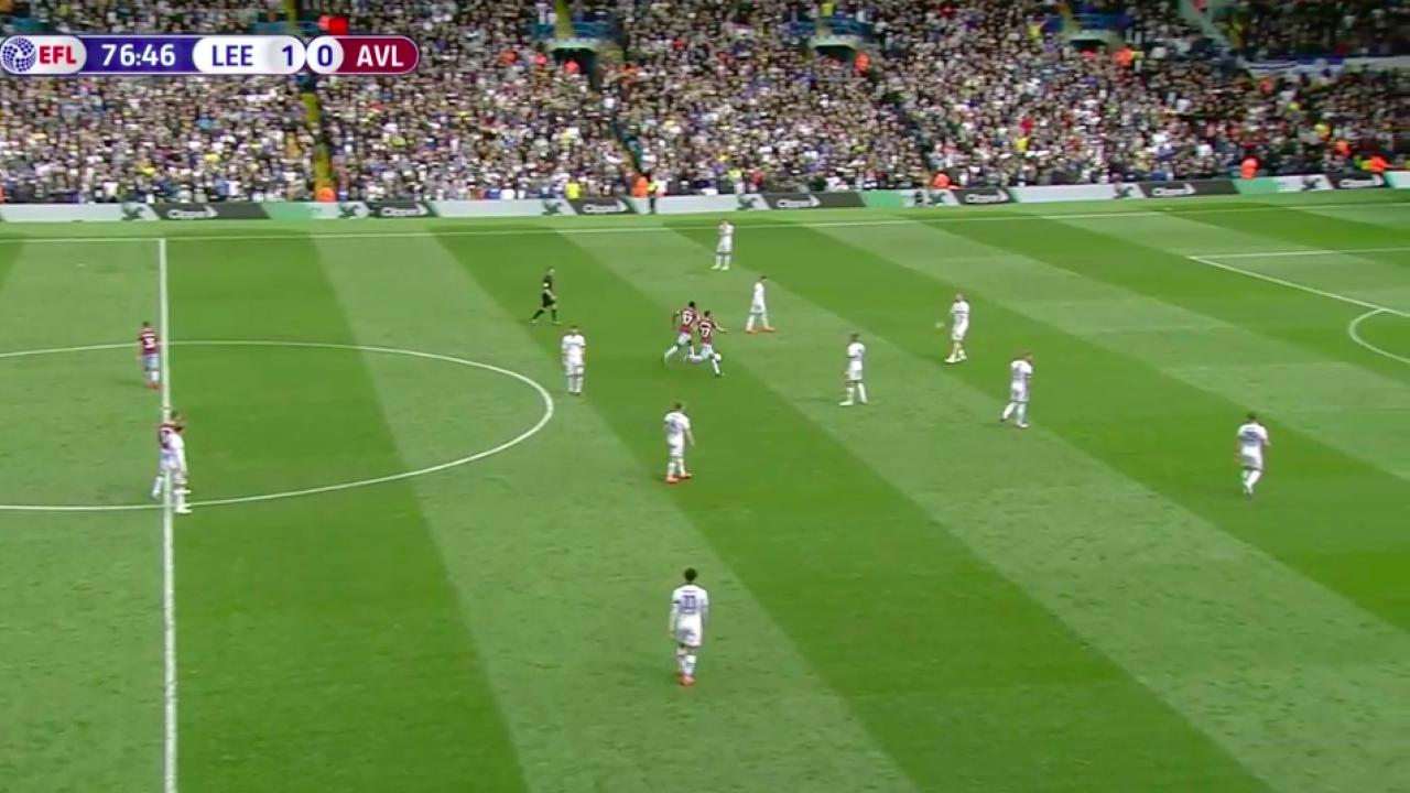 Leeds allows Aston Villa to score