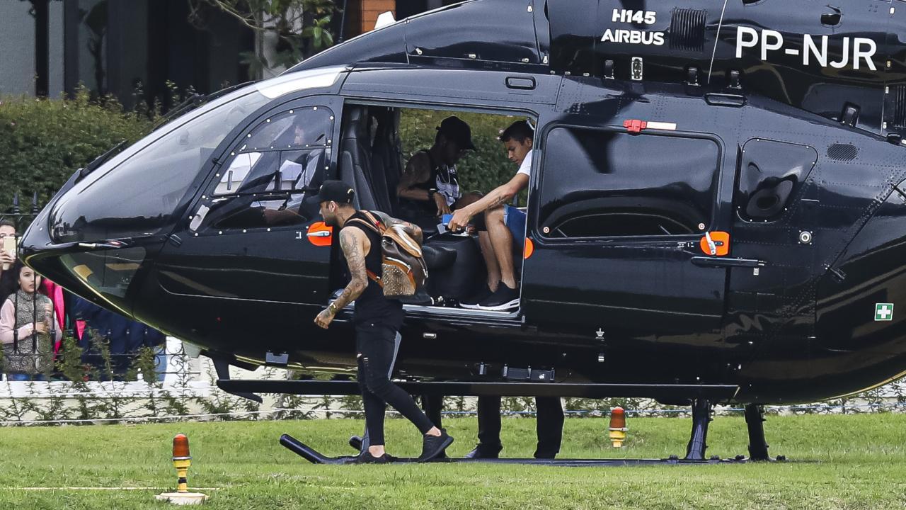 Neymar Helicopter