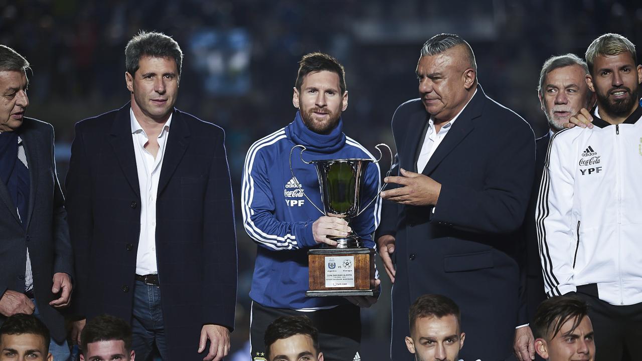 Lionel Messi International Trophies