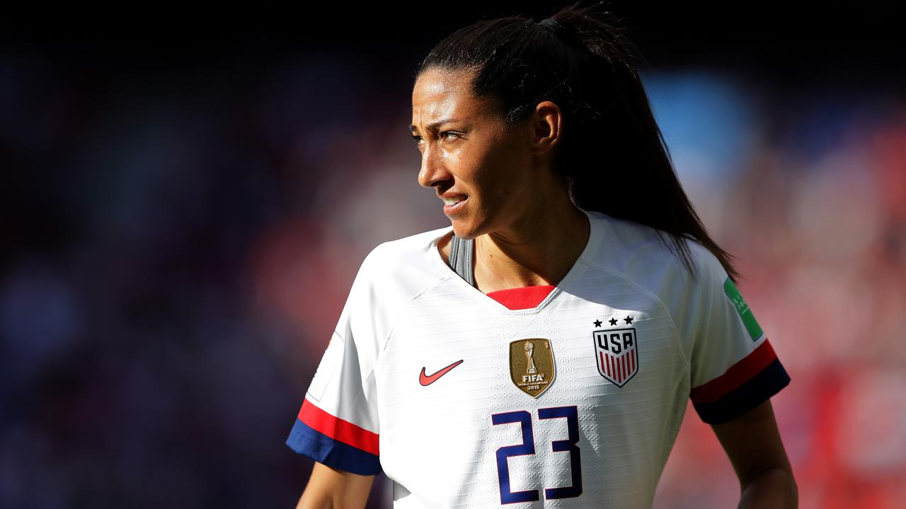 Christen Press USWNT Lineup vs Spain