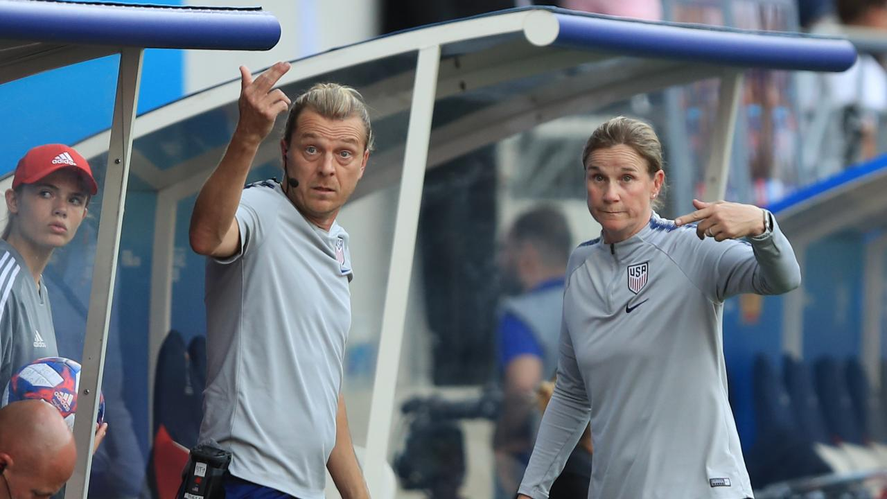 USWNT Assistant Coach Tony Gustavsson