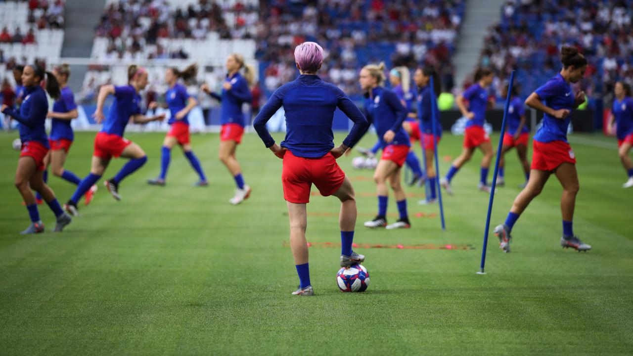 Megan Rapinoe Injury Update