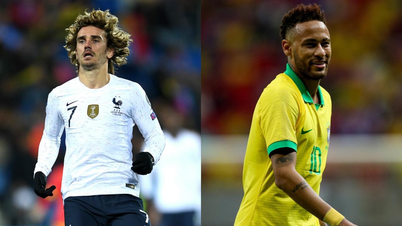 Neymar and Griezmann transfer