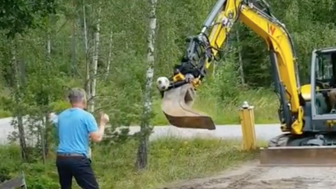 Excavator Soccer