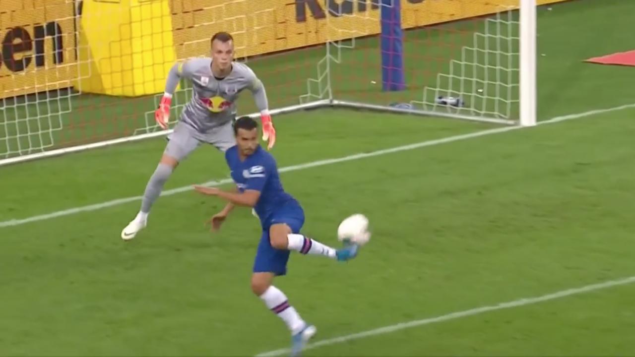 Pedro Goal vs Salzburg