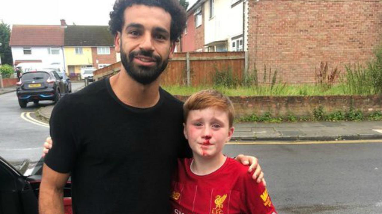 Mohamed Salah nice guy