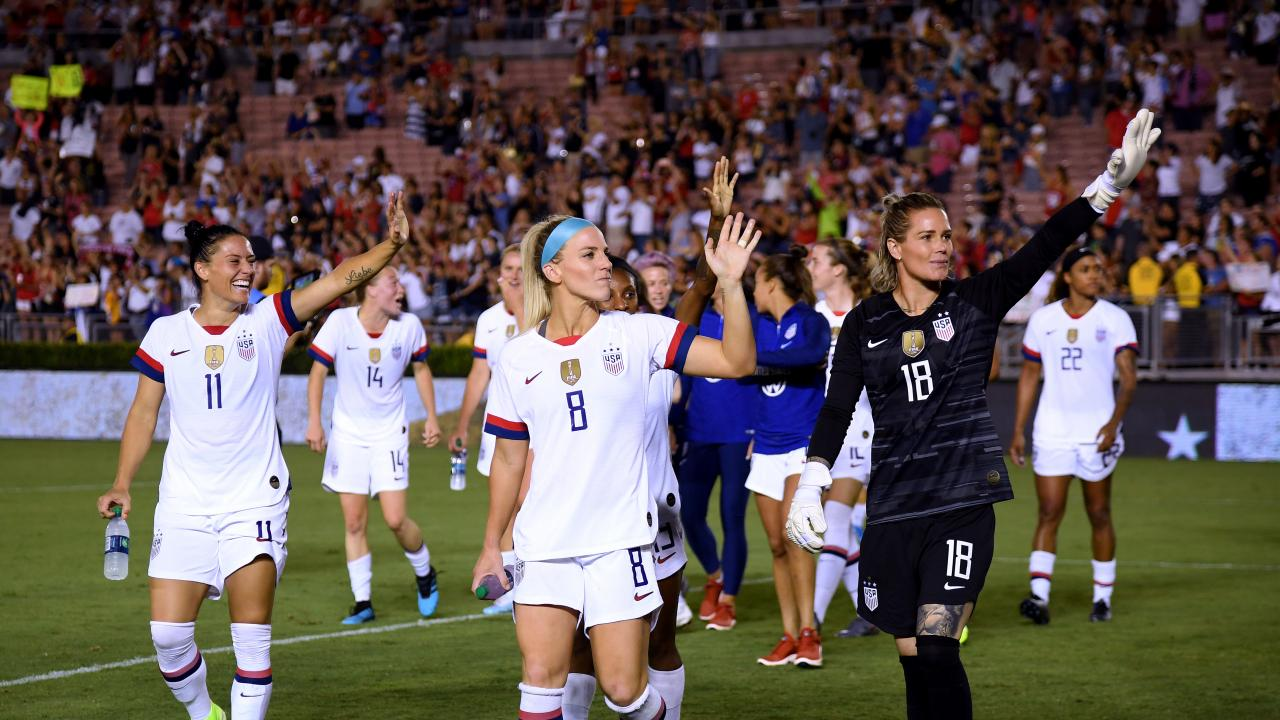 USWNT Roster 2020