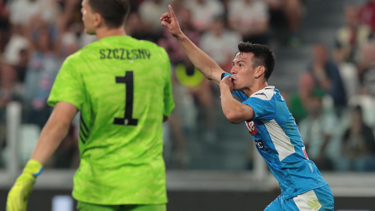 Chucky Lozano Goal vs Juventus