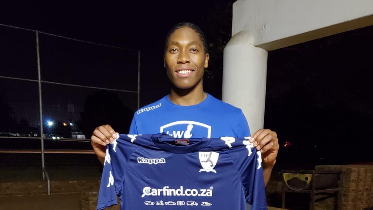 Caster Semenya Soccer