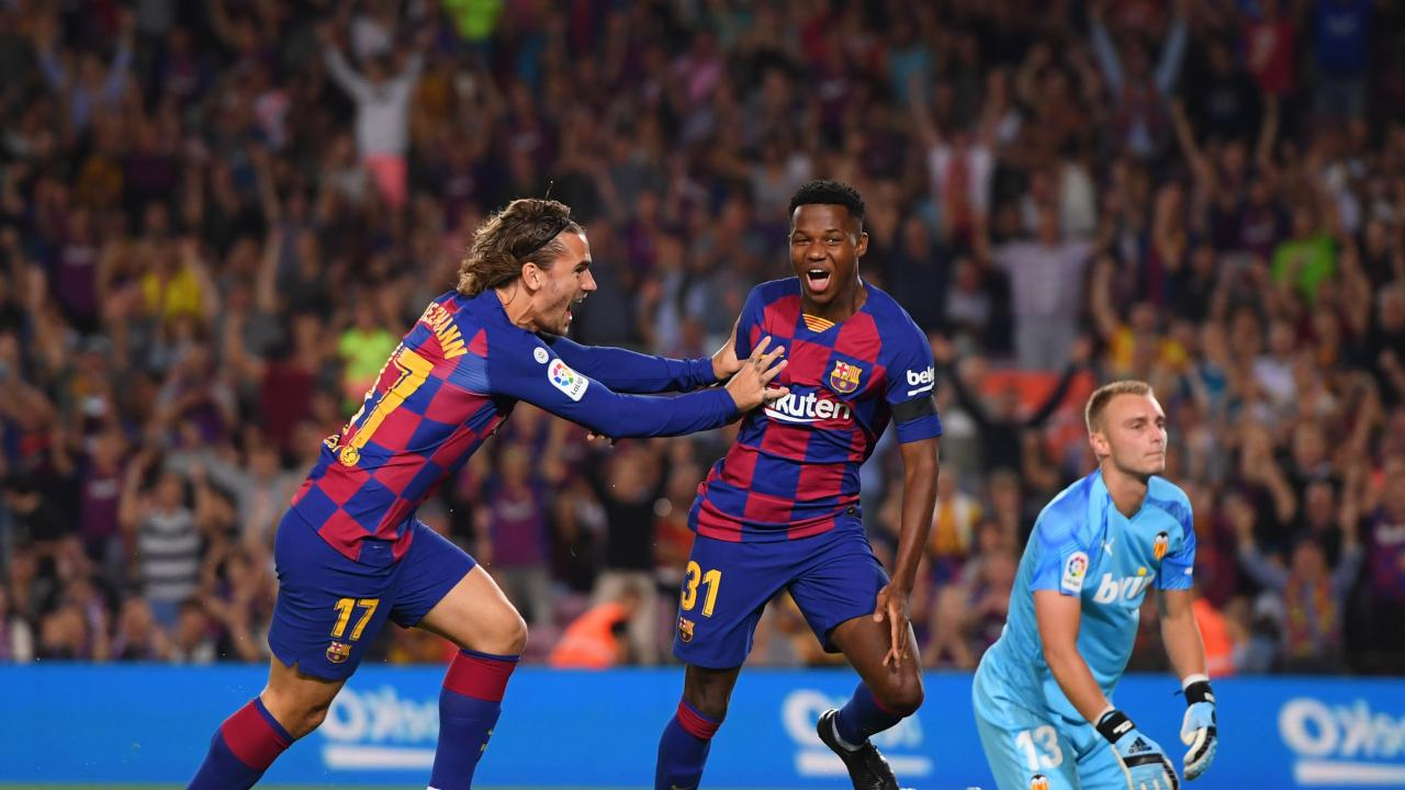 Ansu Fati Goal vs Valencia