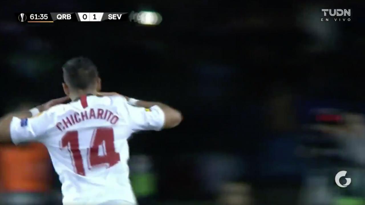 Chicharito Sevilla Goal