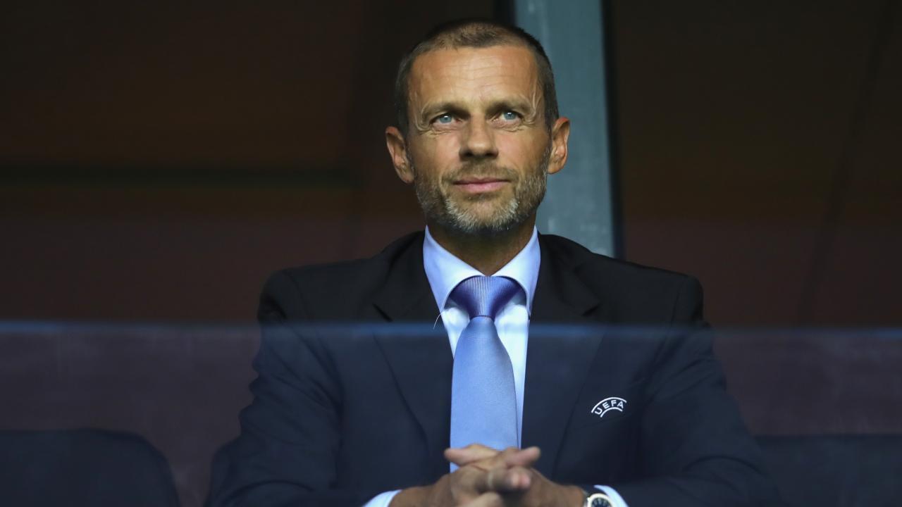 UEFA President Aleksander Čeferin