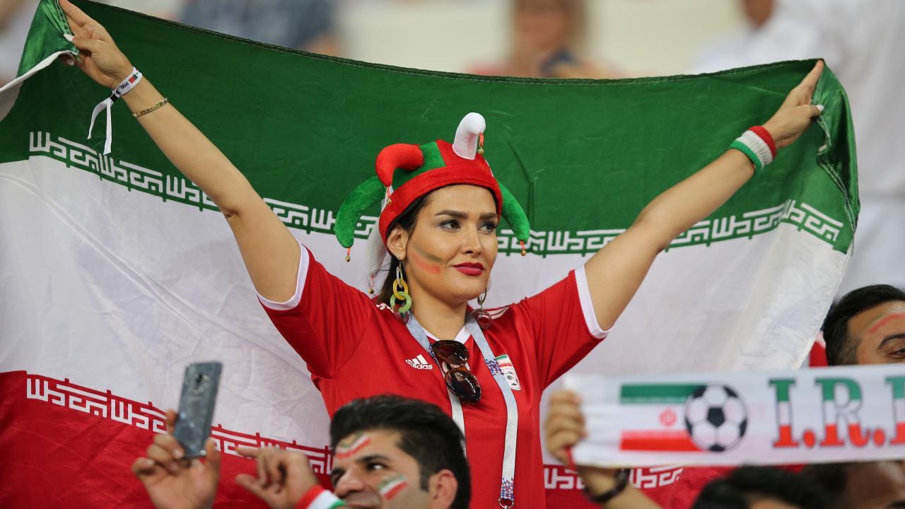 Iran Women Soccer Fans