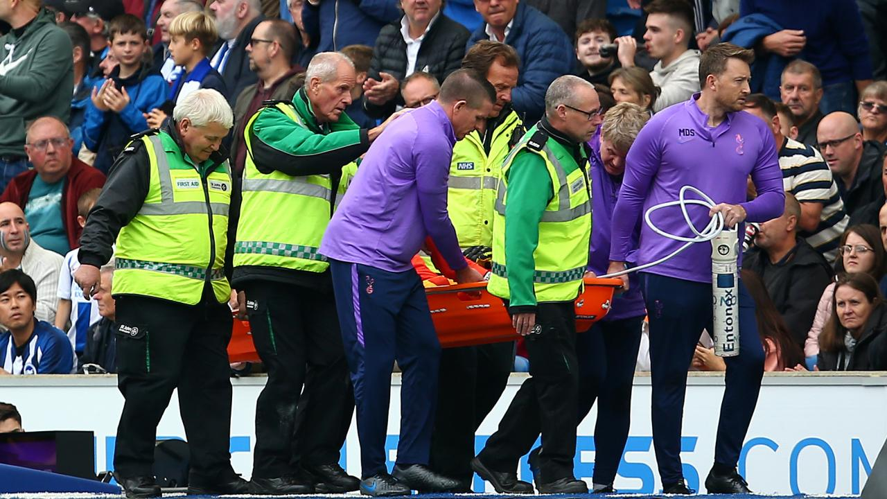 Hugo Lloris Injury vs Brighton