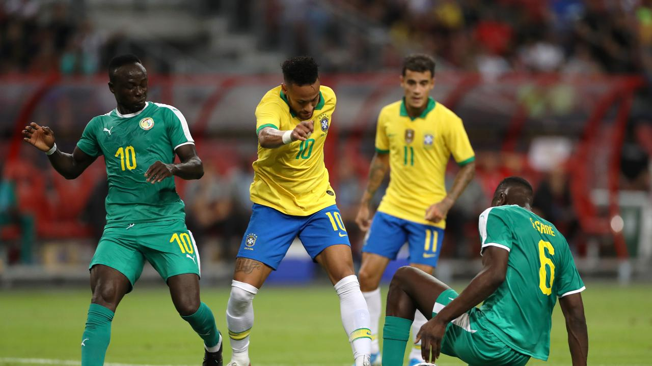 Brazil vs Senegal Highlights October 2019 Friendly