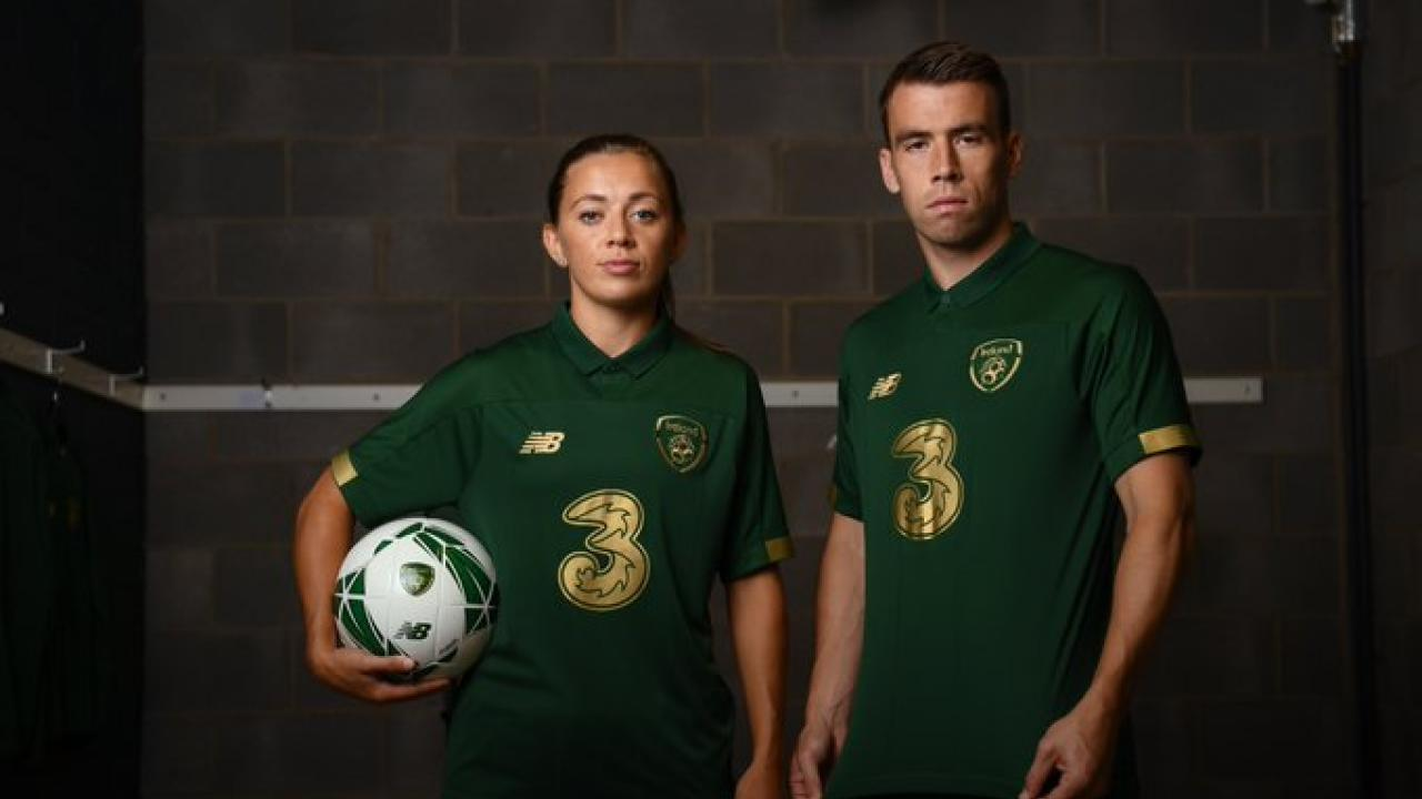 Ireland soccer jersey 2020