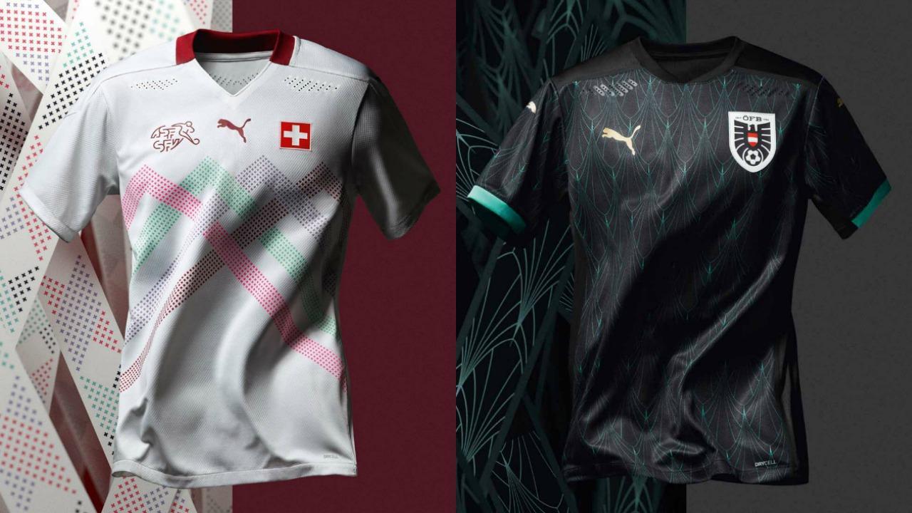 Puma Euro 2020 jerseys