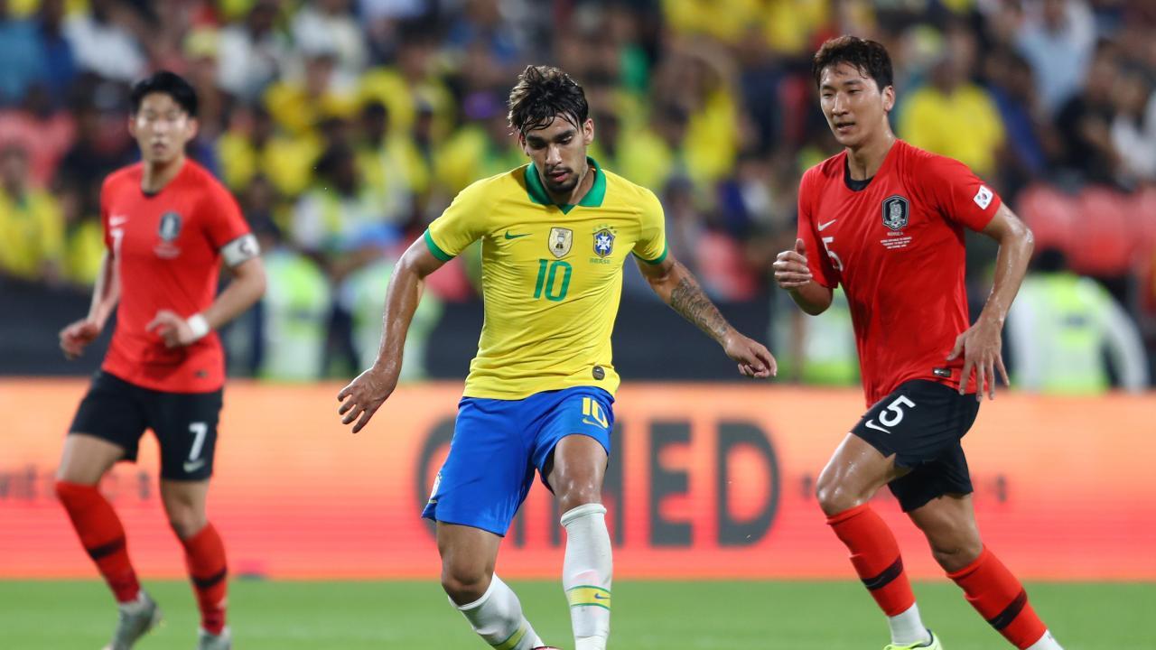 Lucas Paqueta vs South Korea