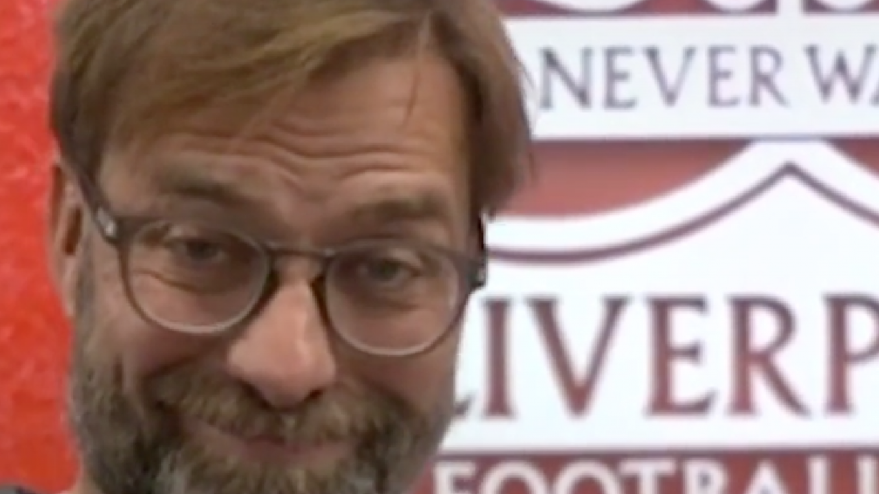 Jurgen Klopp loves the TikTok