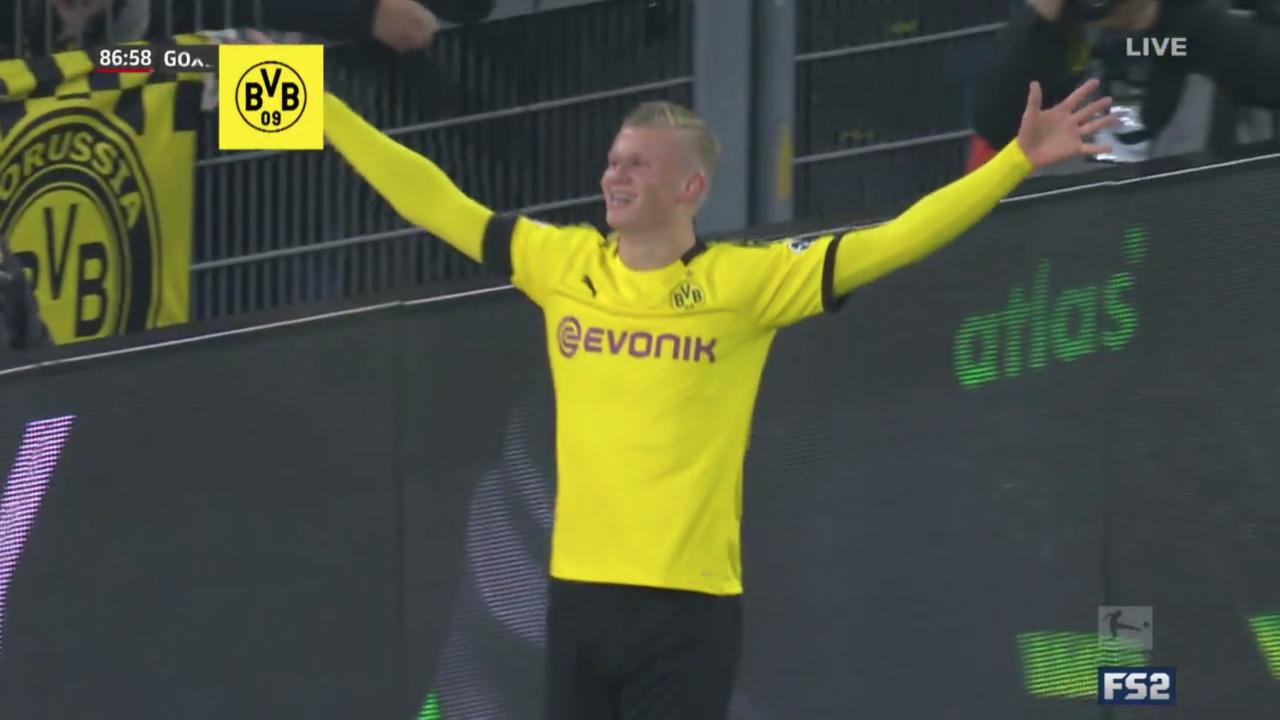 Haland Goal vs Cologne