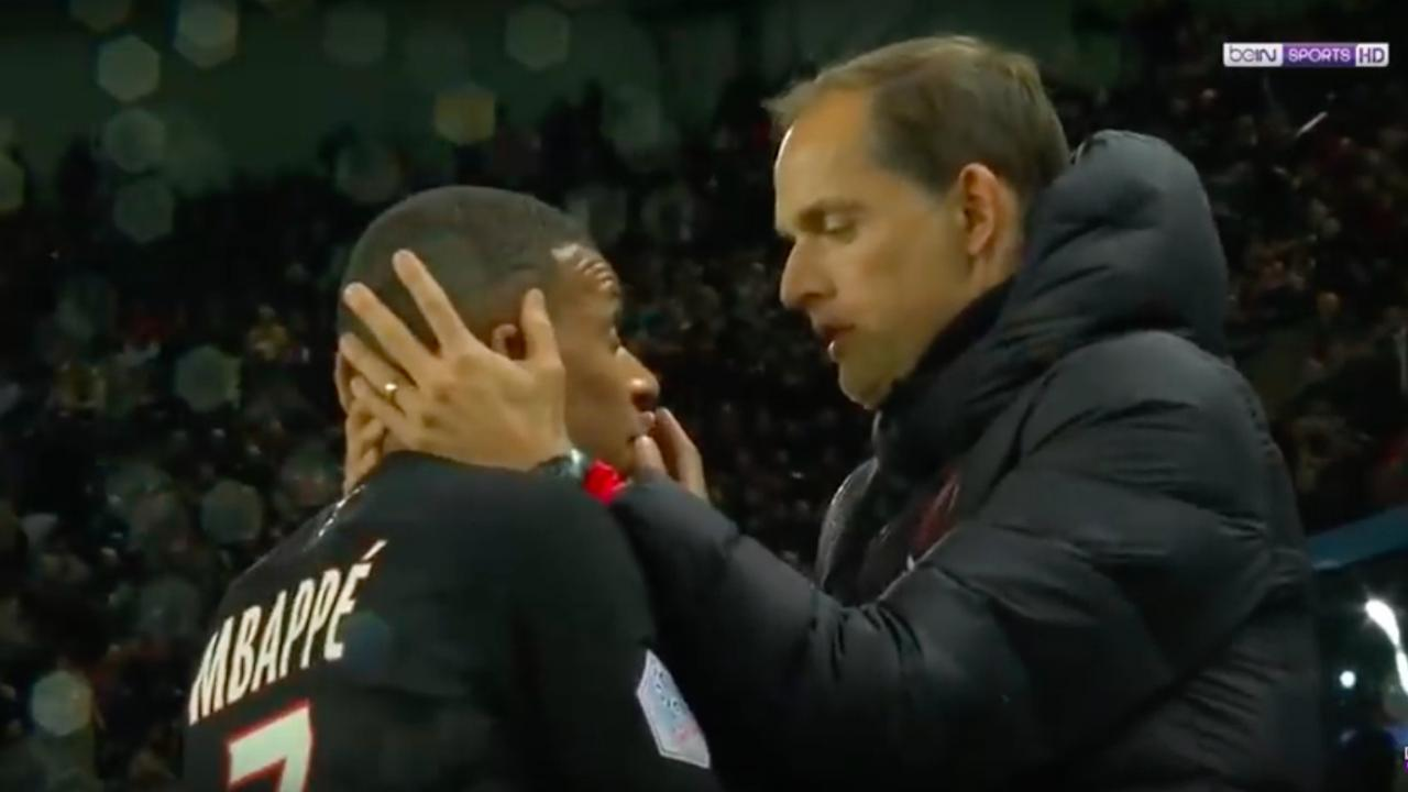 Kylian Mbappe Substitution