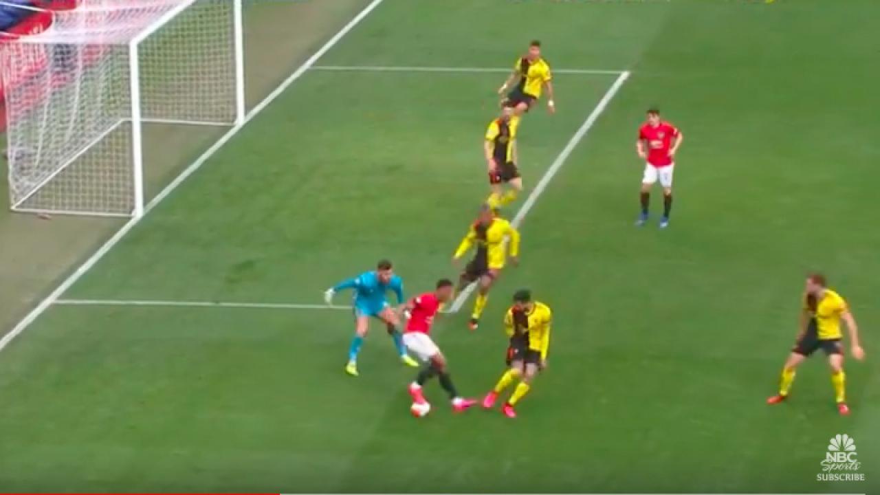 Anthony Martial goal vs Watford