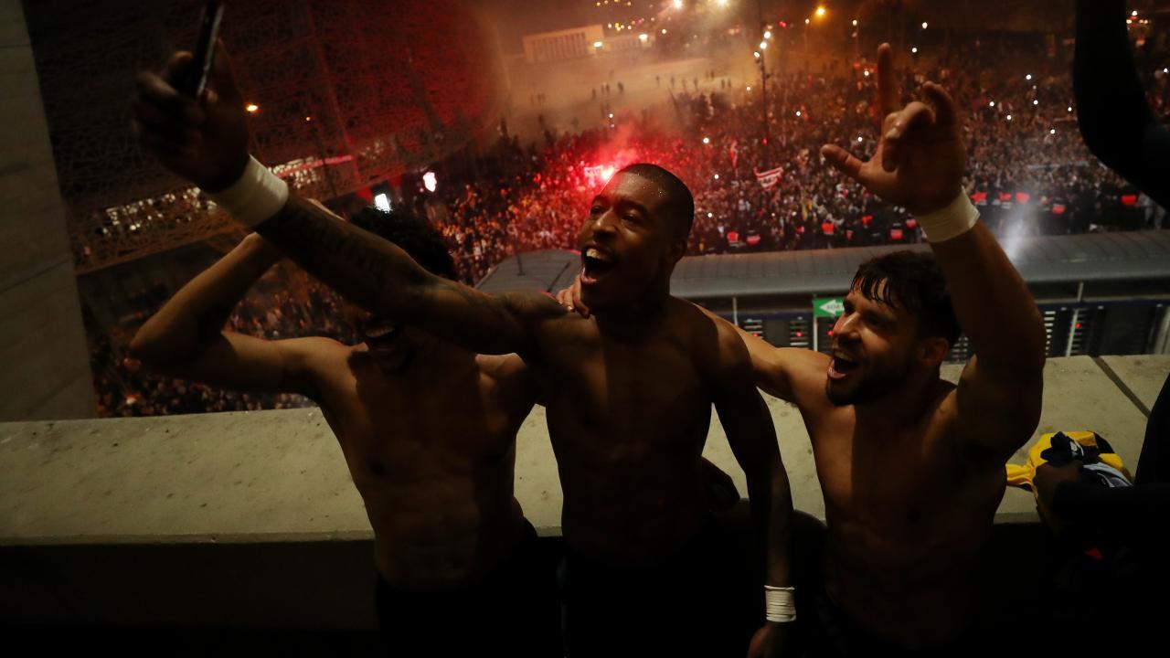 PSG Celebrations vs Dortmund