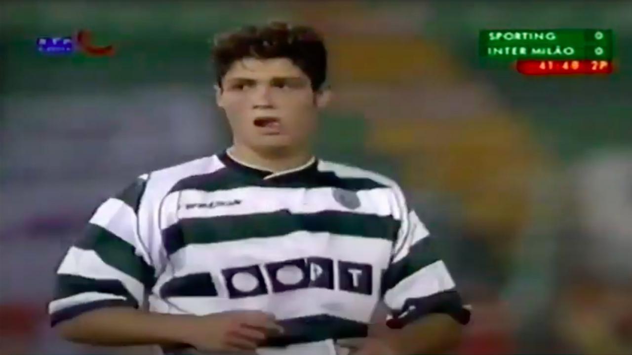 Cristiano Ronaldo Sporting debut