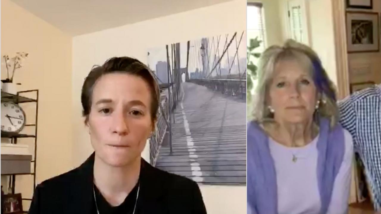 Megan Rapinoe Joe Biden Interview