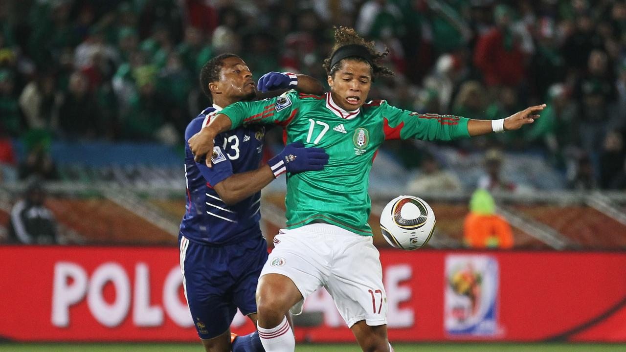 Mexico vs France 2010 World Cup