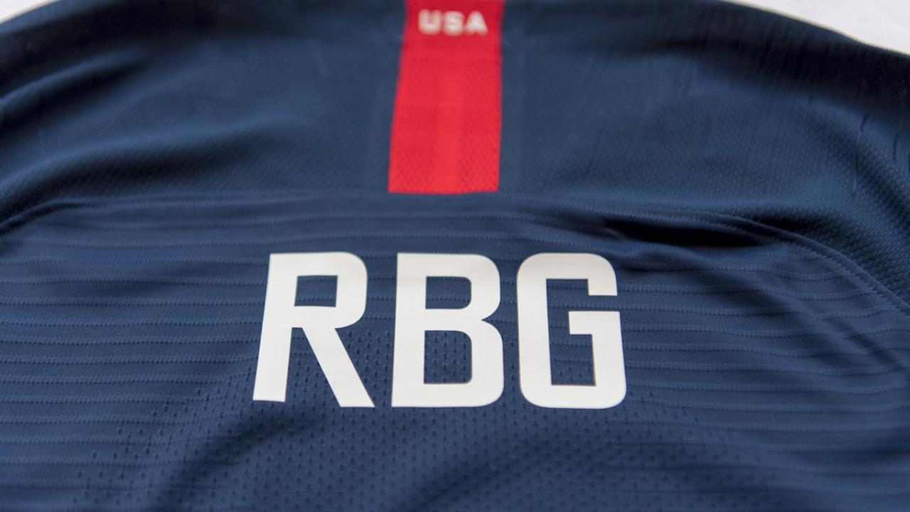 USWNT Honors RBG