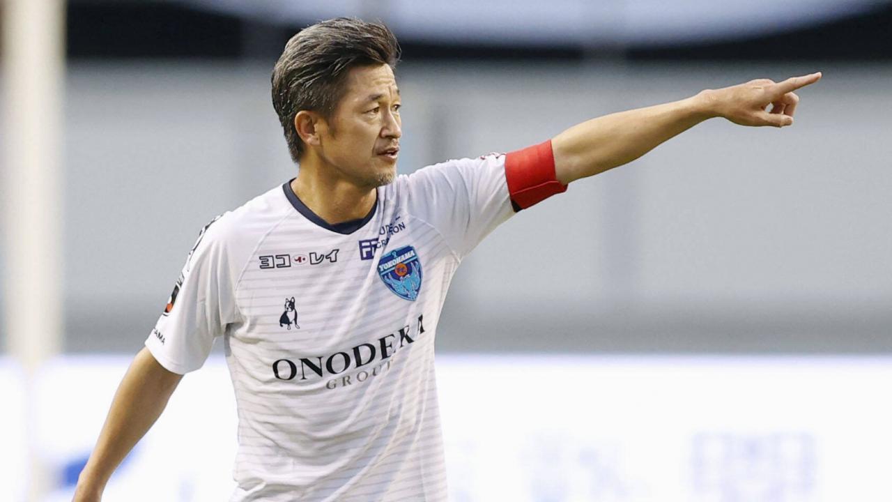 Oldest Player J-League