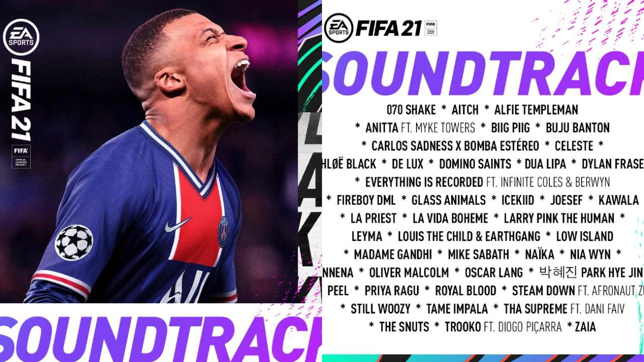 FIFA 21 soundtrack best songs