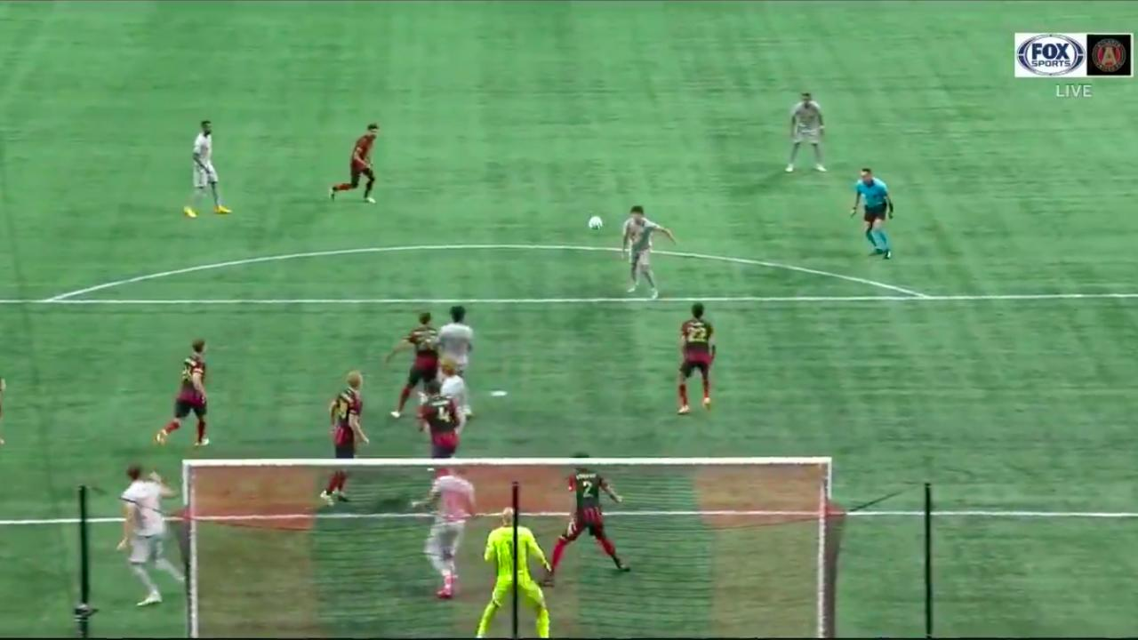Caden Clark goal vs Atlanta United