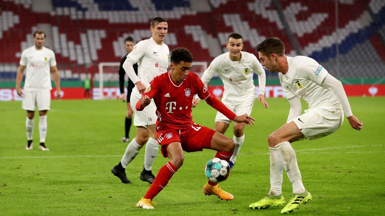 Jamal Musiala Bayern Munich Highlights vs. FC Duren