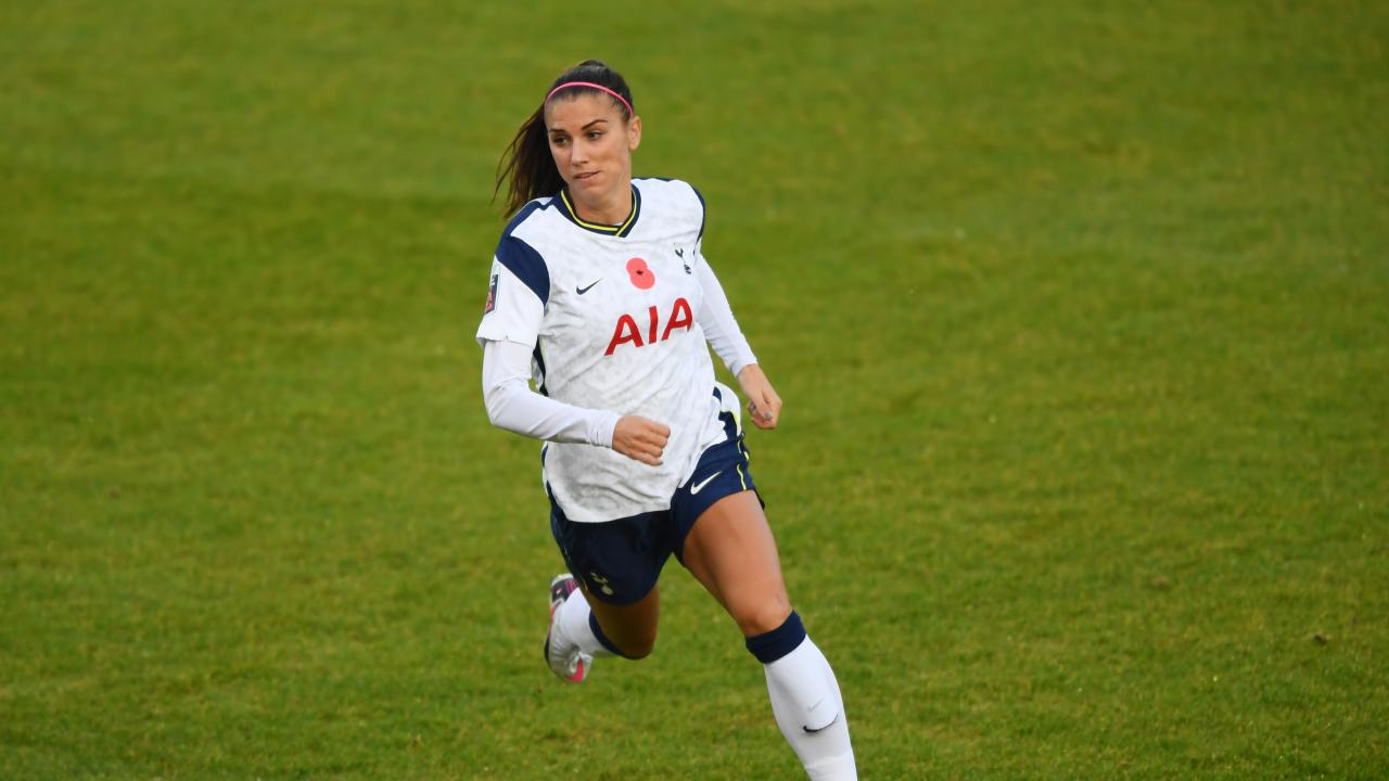 Alex Morgan Tottenham Debut