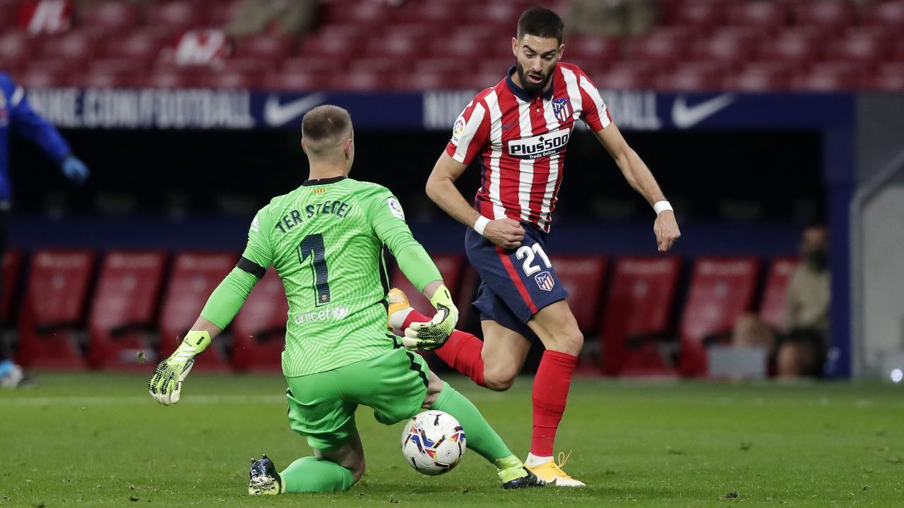 Carrasco Goal vs Barcelona