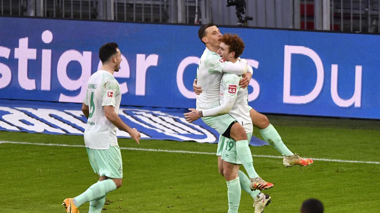 Josh Sargent Assist vs Bayern Munich