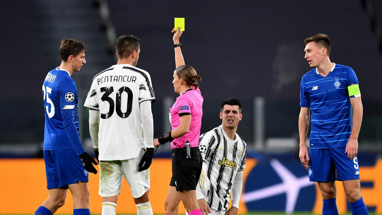 First Female Champions League Ref