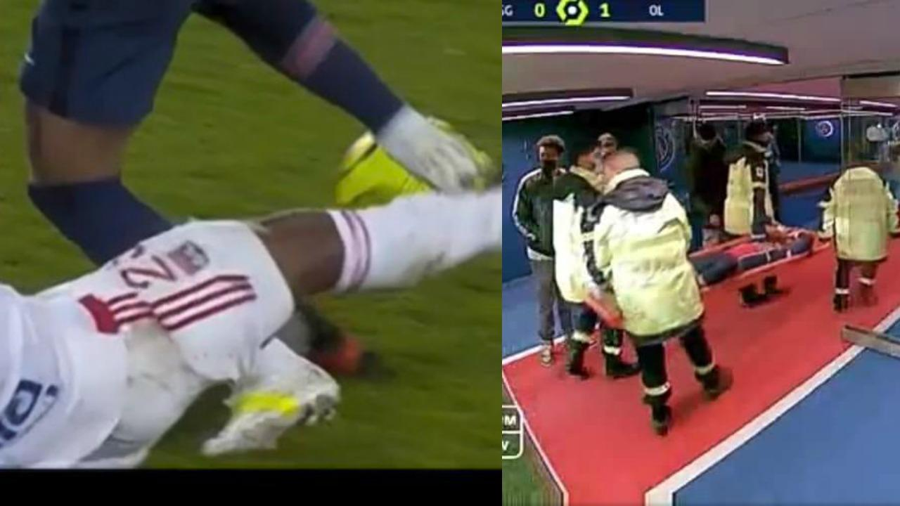 Neymar injury video