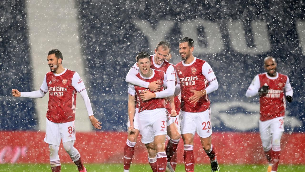 West Brom vs Arsenal Highlights 2021