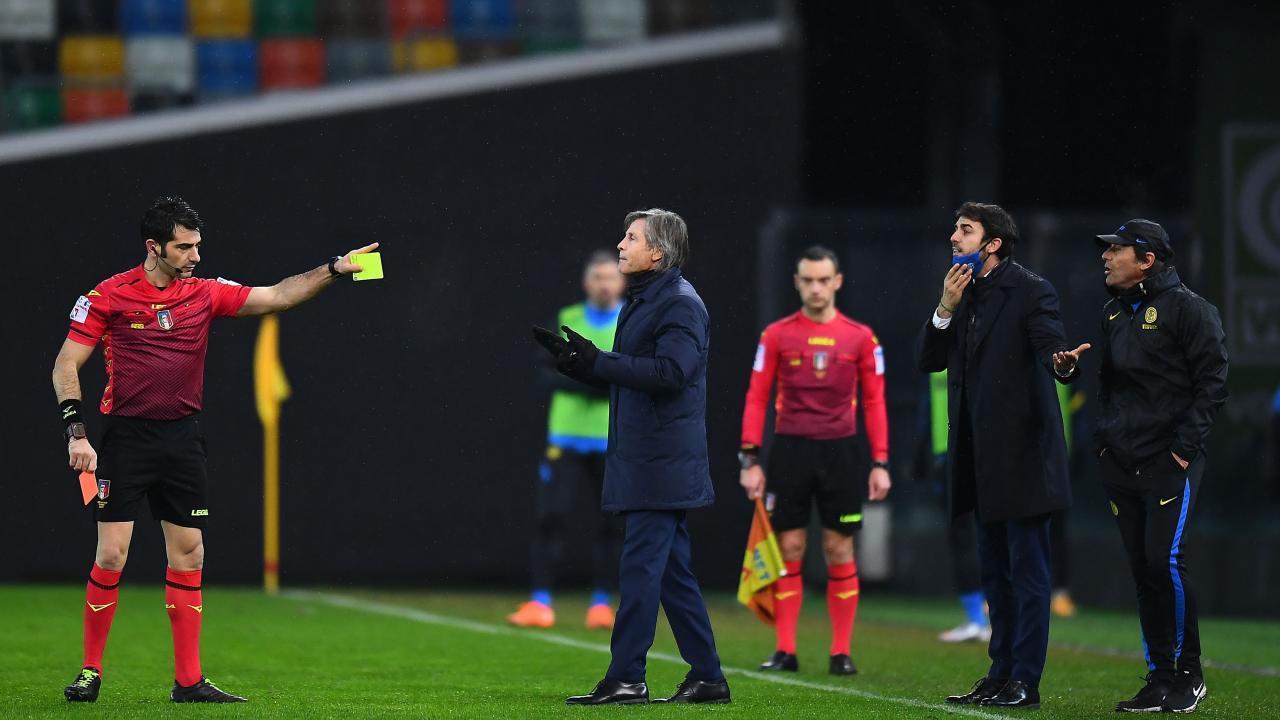 Antonio Conte Red Card