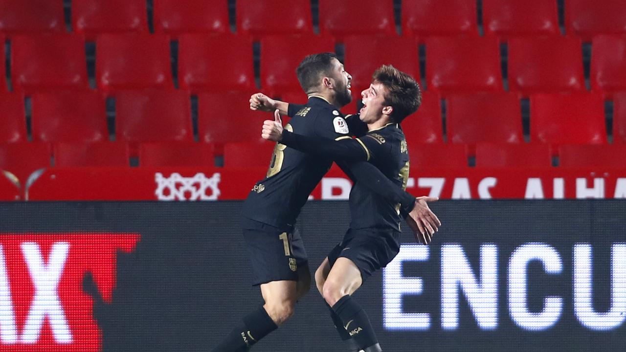 Granada vs Barcelona Copa Del Rey Highlights