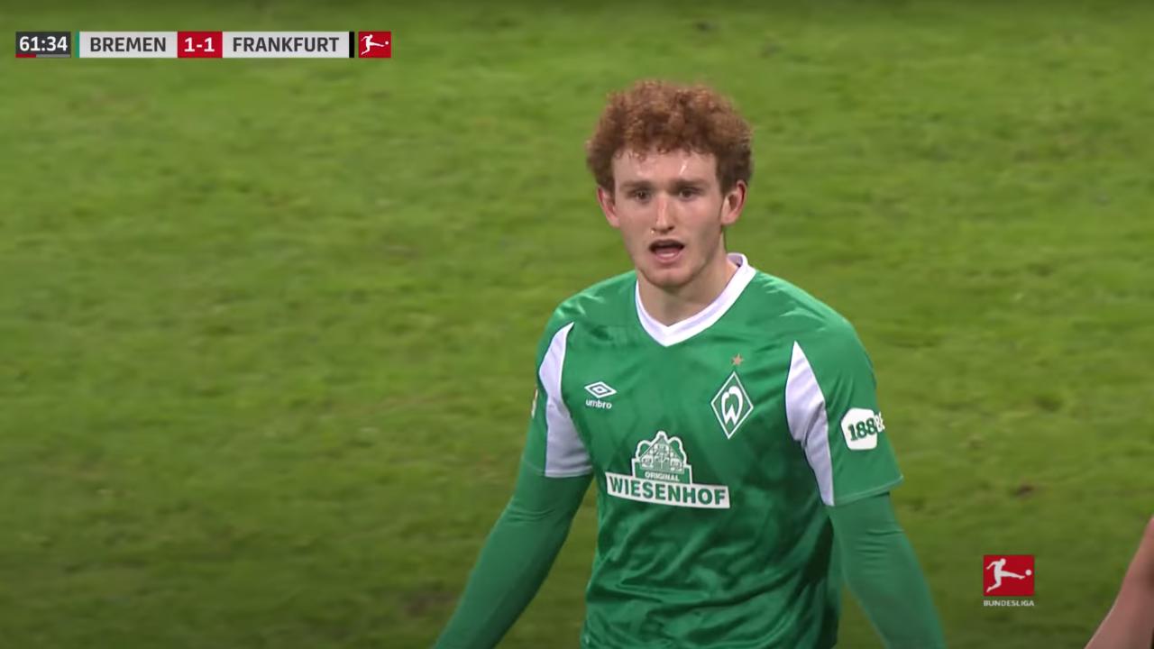 Josh Sargent Goal vs Frankfurt