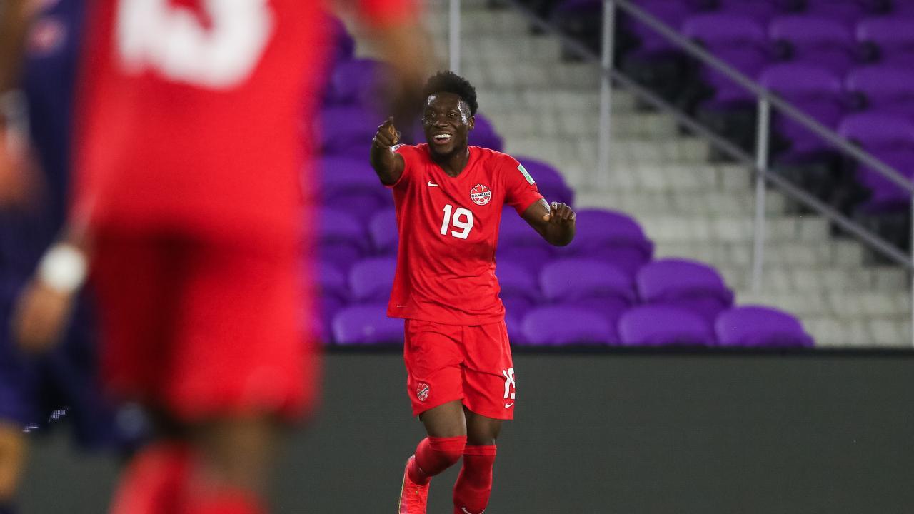 Alphonso Davies vs Bermuda