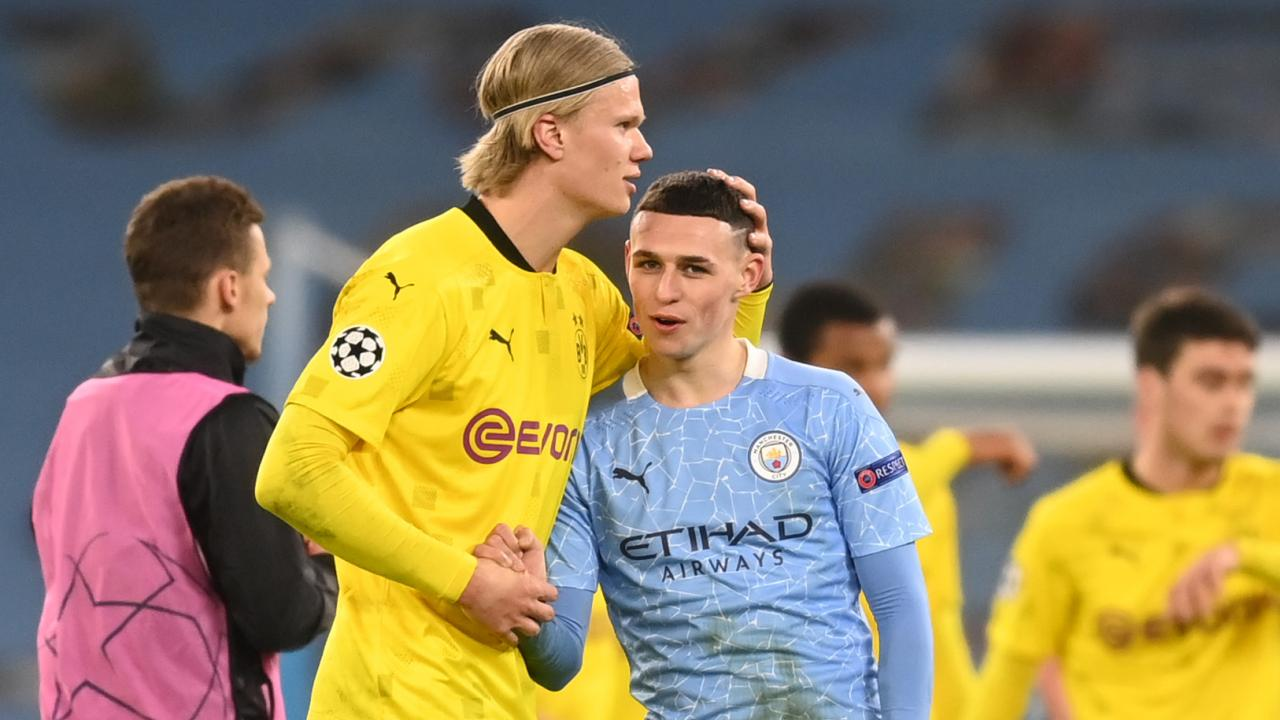 Man City vs Dortmund First Leg Highlights
