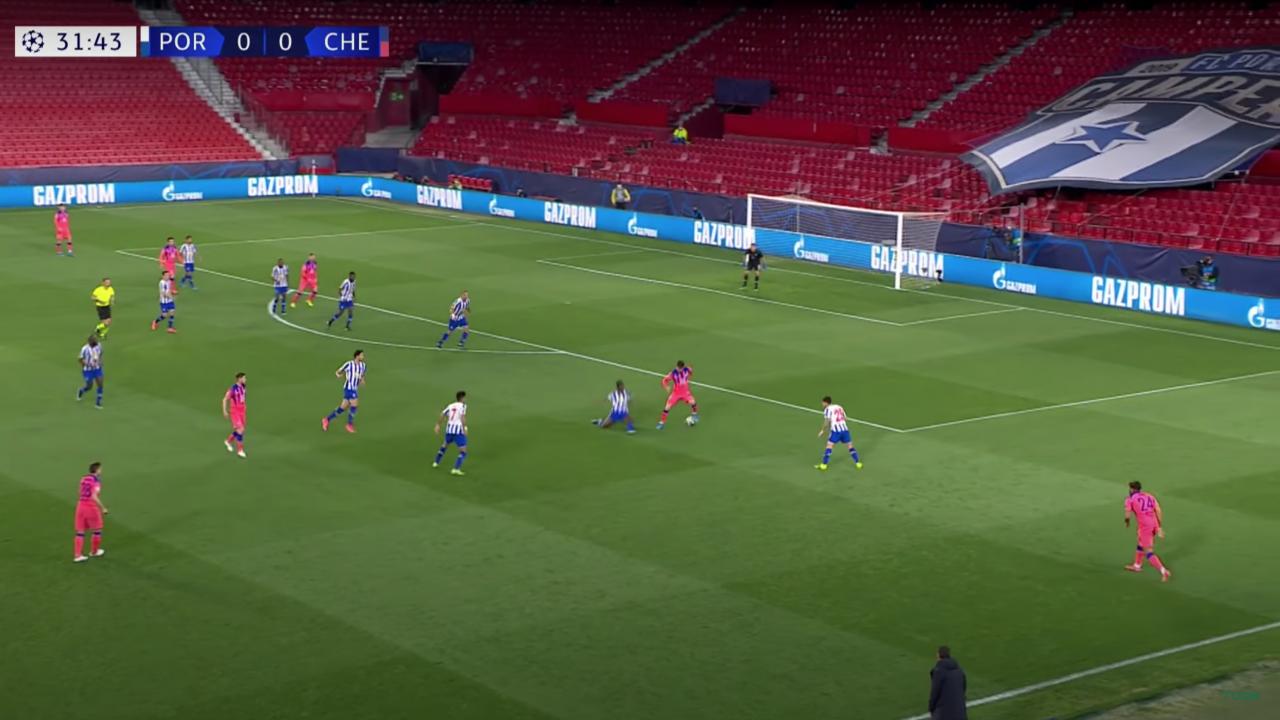 Mason Mount Goal vs Porto