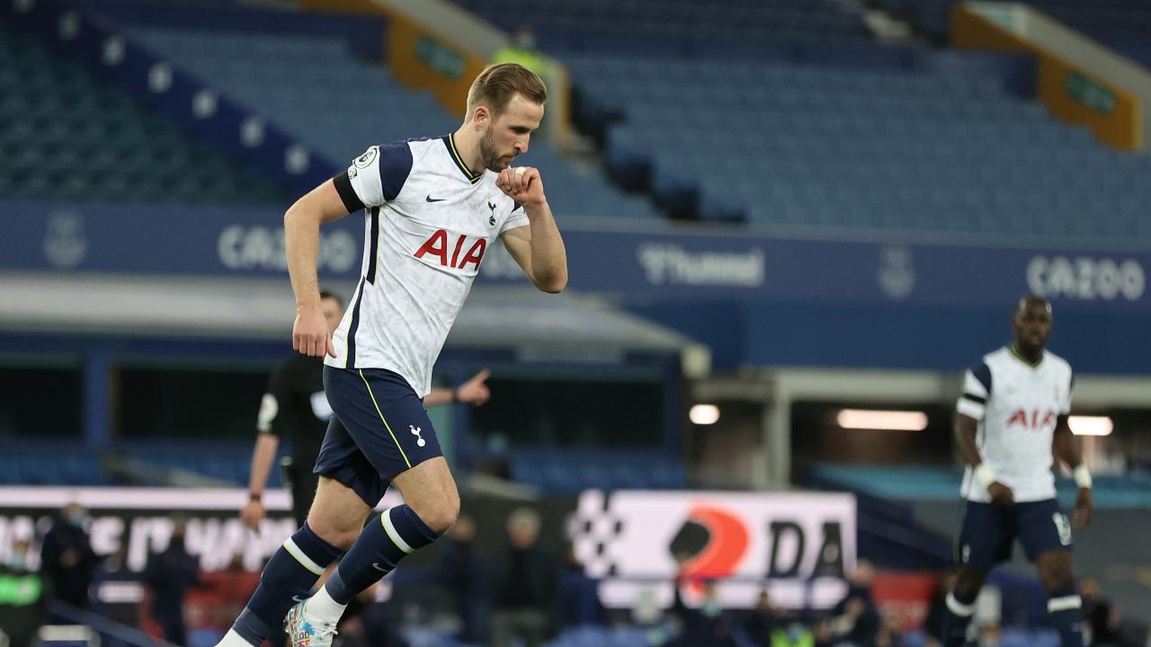 Harry Kane Goals vs Everton