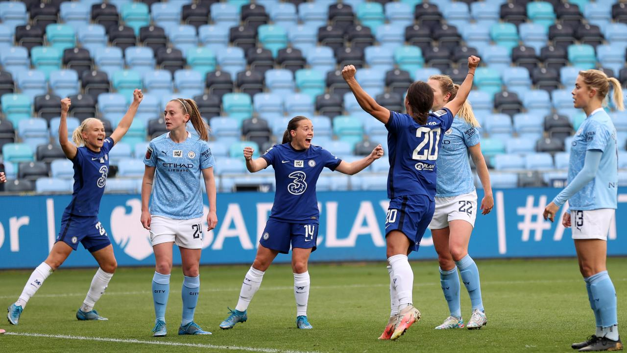 Man City vs Chelsea Women Highlights